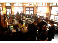 Part time & full time bar staff wanted for city pub. MON-FRI, occasionally weekends. £7.50 per hour