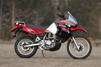 echange klr 650 2008