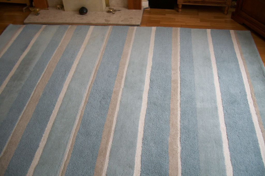Layra Ashley Bexley Rug In Duck Egg Blue