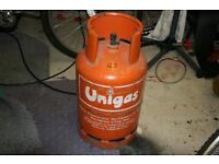 For sale Gas bottle used in caravan.with some gas.