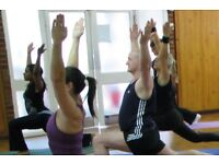 Yoga and Pilates classes in the community