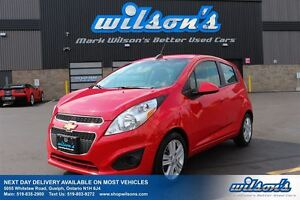 2015 Chevrolet Spark LT! HATCHBACK AUTOMATIC! AIR CONDITIONING!