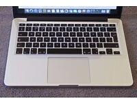APPLE MACBOOK PRO RETINA 2013/14 INTEL CORE I5 2.4GHZ 4GB RAM WIFI WEBCAM OS X