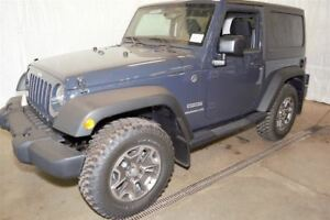 2017 Jeep Wrangler Sport +2 Toits, Hitch+