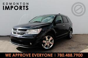 2011 Dodge JOURNEY R/T AWD | CERTIFIED | LEATHER | ONLY $119 B/W