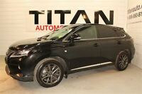 2014 Lexus RX 350 F-Sport| Auto| Leather| Sunroof| Navi| AWD| Bl