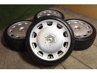 """Genuine TSW Holsten 18"""" Alloy wheels 5x100 & 5x112 VW Golf MK4 MK5 Caddy Audi A3 A4"""