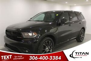 2016 Dodge Durango R/T|HEMI|AWD|Leather|Sunroof|3rd Row