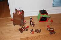 Playmobil, camp romain et tour d'assaut