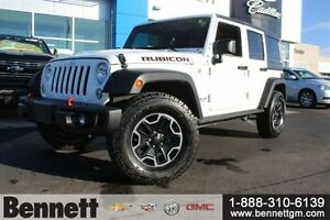 2016 Jeep WRANGLER UNLIMITED Rubicon - Leather, and Navigation