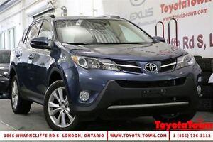 2013 Toyota RAV4 AWD LIMITED LEATHER & NAVIGATION