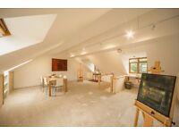 Creative Space/Art Studio 1st floor studio shared or exclusive use