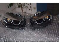 A pair of Left hand drive Europe type bixenon LCI headlight BMW 3er GT F34 LHD LHD MOT TUV APK ITV