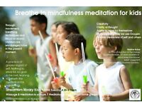 BREATHE IN MINDFULNESS FOR KIDS - SUMMER COURSE