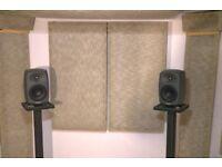 Genelec 8040b Studio Monitors (Pair).