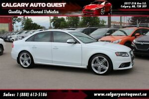 2012 Audi S4 3.0 Premium Plus AWD/NAVI/B.CAM/LEATHER