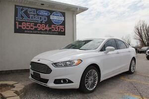 2013 Ford Fusion SE FWD LEATHER SYNC HEATED SEATS