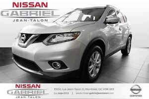 2014 Nissan Rogue SV AWD ONE OWNER/NEVER ACCIDENTED/PANORAMIQUE