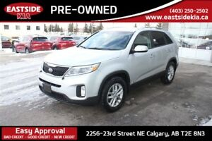 2015 Kia Sorento LX 2.4L AWD BLUETOOTH HEATED SEATS BACK UP SENS