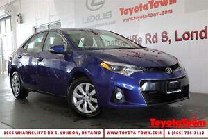 2014 Toyota Corolla SINGLE OWNER S HEATED SEATS & BACKUP CAMERA