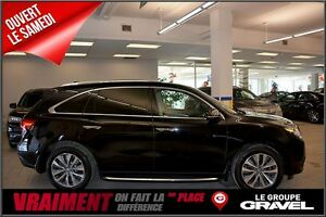 2016 Acura MDX NAVI GPS CAMERA BLUETOOTH CUIR TOIT OUVRANT