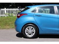 HYUNDAI I30 1.6 ACTIVE BLUE DRIVE CRDI 5d 109 BHP (blue) 2013