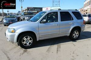 2005 Ford Escape Limited 4WD HEATED LEATHER-SUNROOF
