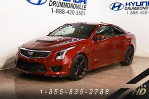 2016 Cadillac ATS-V + 2 760 KM +  BREMBO + HEAD-UP DISPLAY + 10
