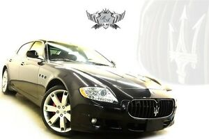 2009 Maserati Quattroporte GT SPORT - LOW KILOMETERS - WOOD TRIM
