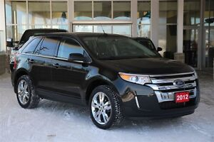 2012 Ford Edge Limited AWD with Panoramic Moon & Navigation Low