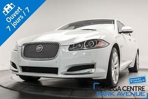 2013 Jaguar XF 3.0L V6 SUPERCHARGED AWD NAV,