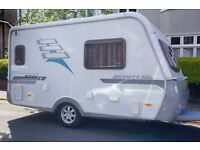 Hymer Nova 392, 2 berth Caravan
