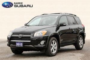2012 Toyota RAV4 Limited (Navigation, Sunroof, Leather interior)