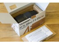 Tamron AF70-300mm F4/5.6 Di Macro for Canon Like New - Only used a few times