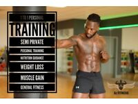 Az FItness. 1 to 1 personal training, semi private personal trainer and fitness classes