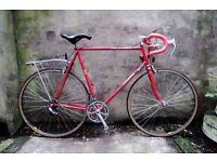 PEUGEOT EQUIPE, 24.5 inch XL size, vintage racer racing road bike, 12 speed