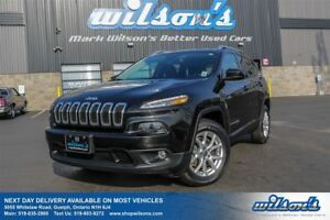 2015 Jeep Cherokee NORTH 4WD! TOUCH SCREEN! BLUETOOTH! CRUISE CO