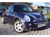 2006 MINI ONE 1.6 PETROL, MANUAL, 3 DOORS HATCH, ONLY 74K, PANORAMIC ROOF, LONG MOT, NICE CAR !!!!!