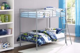 🍭 ALL NEW 🍭 SHINY METAL 🍭 SINGLE BUNK BED 🍭 AMAZING OFFER 🍭 PAY CASH ON ARRIVAL 🍭