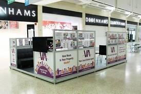 Weekend Sales Demonstrators Wanted - £18 per hour OTE