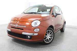 2013 Fiat 500 Lounge*CUIR + MAGS + CRUISE CONTROL + BLUETOOTH*