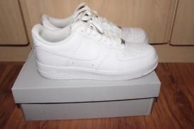 White new Air Force 1