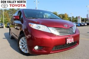 2014 Toyota Sienna XLE 7PASS AWD LIMITED PKG Sunroof DVD Heated