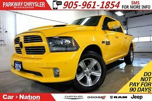 2016 Ram 1500 STINGER| NAV| SUNROOF| TONNEAU COVER| ALPINE SOUND