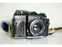 Zenit 12xp 35mm SLR Film Camera with 58mm lens Kit (Helios 44M 58mm f2)
