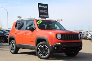 2016 Jeep Renegade Trailhawk 4x4| Heat Seat/Wheel| Rem Strt| RV