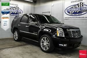 2011 Cadillac Escalade >>>NAV, DVD, sunroof, captain's chairs<<<
