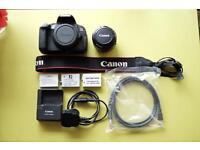 Canon 650D + 50mm 1.8 + accessories