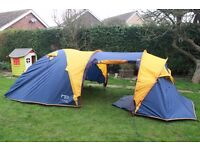 Trailer, Camping Gear and Tents