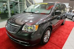 2016 Chrysler Town & Country Touring Stow N Go - DVD, Cuir, Camé